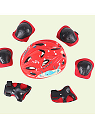 Adjustable Child Helmet Guard Set 7 Sets Of Bike Skateboard Skating Ice Cream Thickening Knee