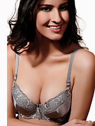KNF Women's Push-up Bra Lady Smooth Bra Brassiere Underwear. Item. Thick B-Cup. Two Hook-And-Eye