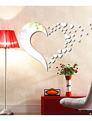 Love Decorates A Wall The Sitting Room The Bedroom The Head Of A Bed Mirror Wall Stickers