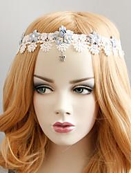 Stirnbänder Weiß