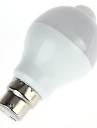 5W LED Smart Bulbs A60(A19) 10 SMD 5630 450 lm Warm White Cool White Infrared Sensor Human Body Sensor Light Control AC85-265 V 1 pc