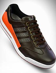 Sapatos para Golf Homens Golf Natural Vestível Confortável Esportes Esportes Espetáculo Praticar Esportes RelaxantesEstilo Moderno