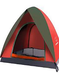 2 Pessoas Bolsa de Viagem Tenda Dobrada Barraca de acampamento Fibra de Nailom Manter Quente