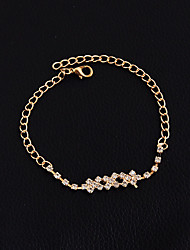 Women's Girls' Anklet/Bracelet Alloy Gothic Handmade Fashion Vintage Bohemian Punk Rock Jewelry ForWedding Party Halloween New Baby