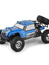 12889 Truggy 1:12 Carro com CR 26 2.4G 1 x manual 1x Bateria 1x Carregador 1 carro RC x