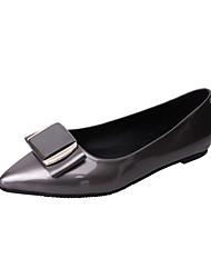 Women's Flats Ballerina Summer TPU Walking Shoes Casual Dress Hollow-out Flat Heel Black Ruby Khaki Flat