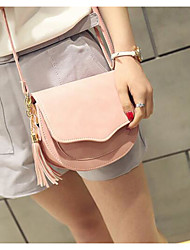 Women Bags All Seasons PU Shoulder Bag with for Casual Outdoor Blue Black Blushing Pink