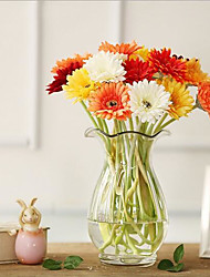 10 Branches/Groups Of Colorful African Chrysanthemum Imitation Flowers/Idyllic Imitation Flowers/Home Decoration Flowers