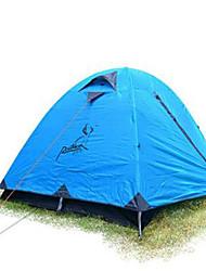 3-4 Pessoas Travesseiro Inflável Cabana de Praia Duplo Barraca de acampamento Tenda Dobrada Manter Quente Á Prova-de-Chuva para Acampar e