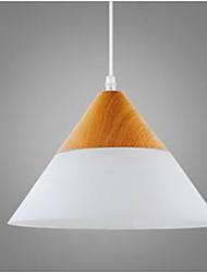 Lit de lit moderne personnalité créative salle à manger verre bois grain de droplight