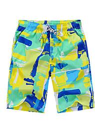 Per uomo Pantaloncini da corsa Asciugatura rapida Casual Pantaloncini /Cosciali per Corsa Esercizi di fitness Tessuto sintetico XXL XXXL