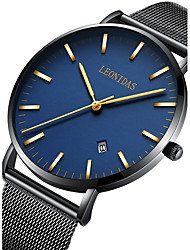 Men's Sport Watch Military Watch Dress Watch Fashion Watch Wrist watch Unique Creative Watch Casual Watch Japanese Quartz Calendar Water