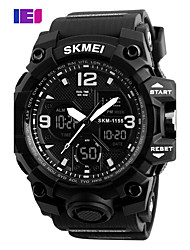 SKMEI  Digital Chronograph Double Time Alarm Watch 50M Watwrproof EL Light Wristwatches Relogio Masculino Sport Watches