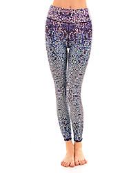 Damen Enge Laufhosen Fitness, Laufen & Yoga Strumpfhosen/Lange Radhose Unten für Yoga Rennen Leger Übung & Fitness Baumwolle EngL XL XXL