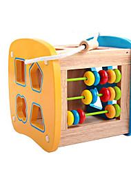 Bloques de Construcción Puzles de Madera Para regalo Bloques de Construcción 1-3 años de edad 3-6 años de edad Juguetes