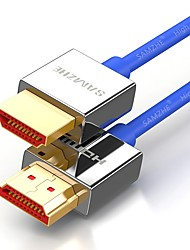 HDMI 2.0 Кабель, HDMI 2.0 to HDMI 2.0 Кабель Male - Male Позолоченная медь 1.0m (3FT)