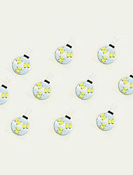1W Luci LED Bi-pin 6 SMD 5630 75 lm Bianco caldo Bianco DC 12 V 10 pezzi