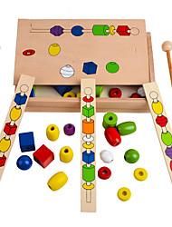 Blocs de Construction Pour cadeau Blocs de Construction Carré 6-12 mois 1-3 ans Jouets