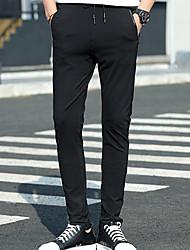 Per uomo Pantaloni da corsa Casual Pantalone/Sovrapantaloni per Corsa Esercizi di fitness Cotone Tessuto sintetico Taglia piccolaL XL XXL