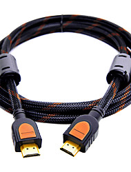 HDMI 2.0 Cable, HDMI 2.0 to HDMI 2.0 Cable Macho - Macho Cobre dorado 0,5m (1.5ft)