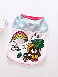 Собака Жилет Одежда для собак На каждый день Носки детские Оранжевый Розовый