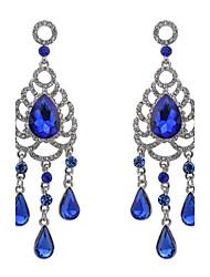 Mujer Pendientes colgantes Cristal La imitación de diamanteDiseño Básico Circular Diseño Único Diamantes Sintéticos Geométrico Amistad