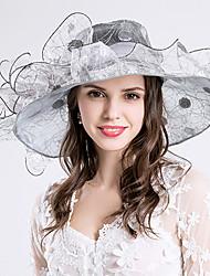 Casque-Mariage Occasion spéciale Fête/Soirée Décontracté Chapeau 1 Pièce