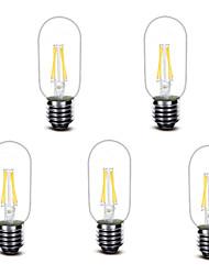 3W Lâmpadas de Filamento de LED T 4 COB 400 lm Branco Quente Decorativa AC220 V 1 pç