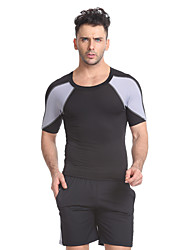 Running T-Shirt with Shorts Short Sleeves Fitness, Running & Yoga Quick Dry Breathable Running T-Shirt + Shorts Clothing Suits for Yoga