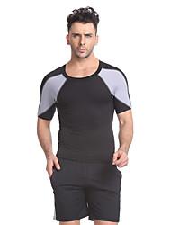 Camiseta de running con shorts Manga Corta Gimnasio, Correr & Yoga Secado rápido Transpirable Camiseta de running + pantalones cortos