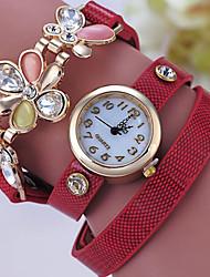 Women's Bracelet Watch Digital Metal Band Black White Blue Red Green Grey Gold Yellow