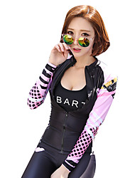 Diving Suits Female Split Couple Suit Jellyfish Clothing Surfing Snorkeling Suits Sunscreen Long - Sleeved Swimsuit