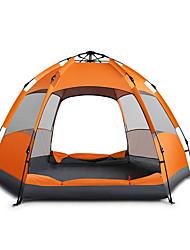 5-8 человек Световой тент Двойная Палатка Автоматический тент Водонепроницаемый Теплый Влагонепроницаемый Дожденепроницаемый Световой