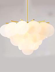 40w подвесной светильник, традиционная / классическая роспись для мини-стиля дерева / бамбука комнаты / спальни / столовой / кабинета