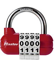 MasterLock 1523MCND Zinc Alloy Padlock Padlock 4 Digit Password Gymnasium Cabinet Door Adjustable Padlock Padlock Dail Lock Password Lock