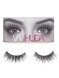 VVHUDA Mink Lash False Eyelashes 3D Eye Makeup Collection Natural Fibers Long Thick Premium Extension Alyssa