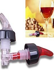1шт 1 унция измеряется бар бытовой виски ликер налить свободный поток носик вино Pourer (случайный цвет)