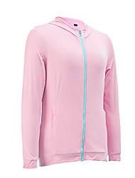 Femme Manches Longues Golf Sweat à capuche Hauts/Tops Respirable Ecran Solaire Golf