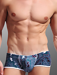 Men's Men Sexy Push-Up Pattern Ultra Sexy Panties Boxers Underwear