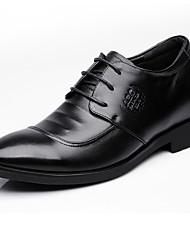 Masculino Oxfords Sapatos formais Pele Primavera Outono Sapatos formais Preto Menos de 2,5cm