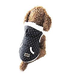 Hund Kapuzenshirts Hundekleidung Lässig/Alltäglich Polka Dots