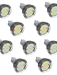 10pcs 5W LED Spotlight GU10 16 SMD5730 Warm/Cool White Decorative Led Lamp AC220V