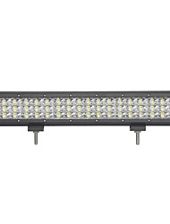162W-Row 16200lm Working Light for Car/Boat/Headlight 162W Type/C 6000K LED White Combo Double Rows 9v-32v