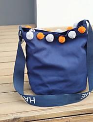 Women Shoulder Bag Canvas All Seasons Casual Shopper Magnetic Blushing Pink Black White Blue