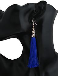 Women's Earring Back Drop Earrings Hoop Earrings Dangling Style Tassel Tassels Metal Alloy Geometric Jewelry For Dailywear Gift Traveling