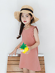 Girl's Solid Dress