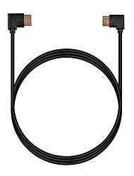 Cwxuan HDMI 1.4 Кабель, HDMI 1.4 to HDMI 1.4 Кабель Male - Male 1080P Позолоченная медь 1.8M (6 футов)