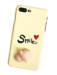 For Case Cover Pattern DIY Squishy Back Cover Case Word / Phrase Hard PC for Apple iPhone 7 Plus iPhone 7 iPhone 6s Plus iPhone 6 Plus