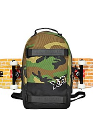 Skateboard Backpack Skateboard Carrying Bag for Skateboard Skateboarding cm Outdoor Fashion Unisex Nylon Camouflage Green