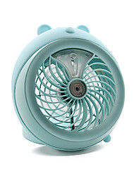Water Mist Mini USB Fan Cool and Refreshing Light and Convenient Quiet and Mute Wind Speed Regulation Upright Design